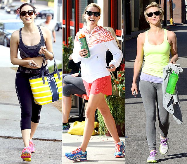 Celebrity Workout Clothes And Style Celebrity Workout Clothes Celeb Workout Outfits Celebrity Athleisure