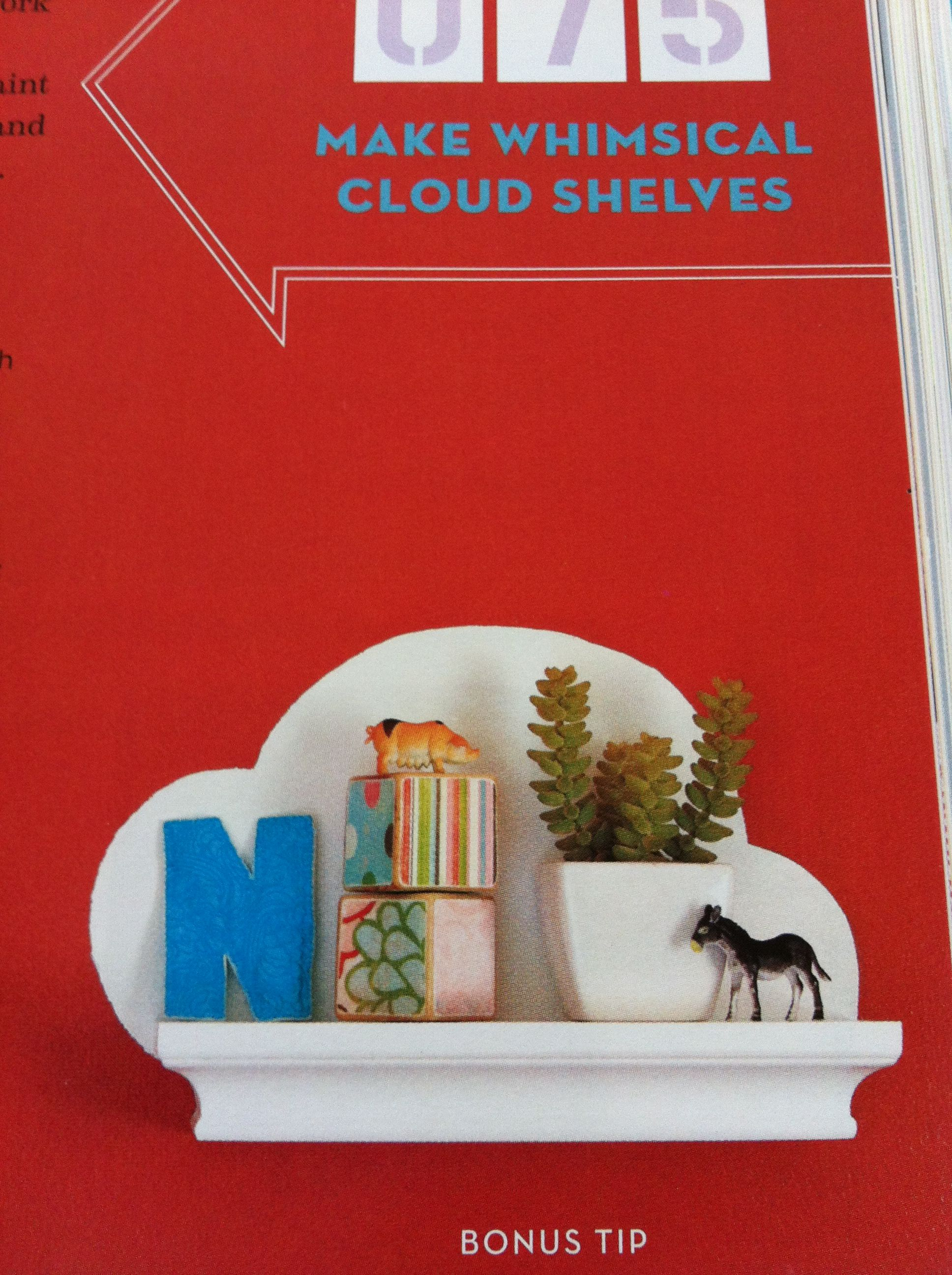 Whimsical Shelves Make Whimsical Cloud Shelves Young House Love Diy