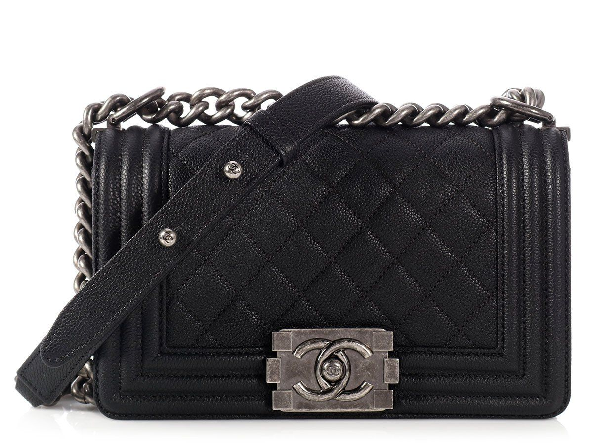 11f68e03a859 Chanel Small Black Boy Bag | Handbags | Chanel, Bags, Black boys