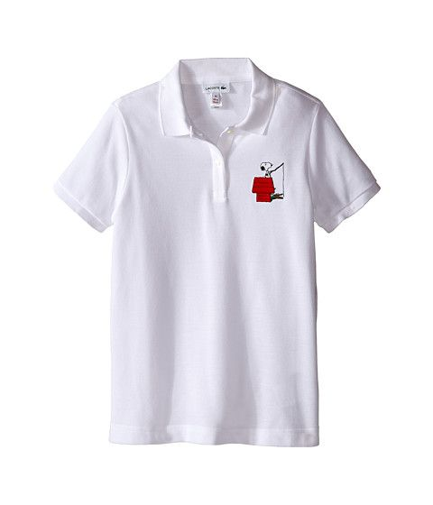 50d196741d2 Lacoste Kids Peanuts Snoopy Polo