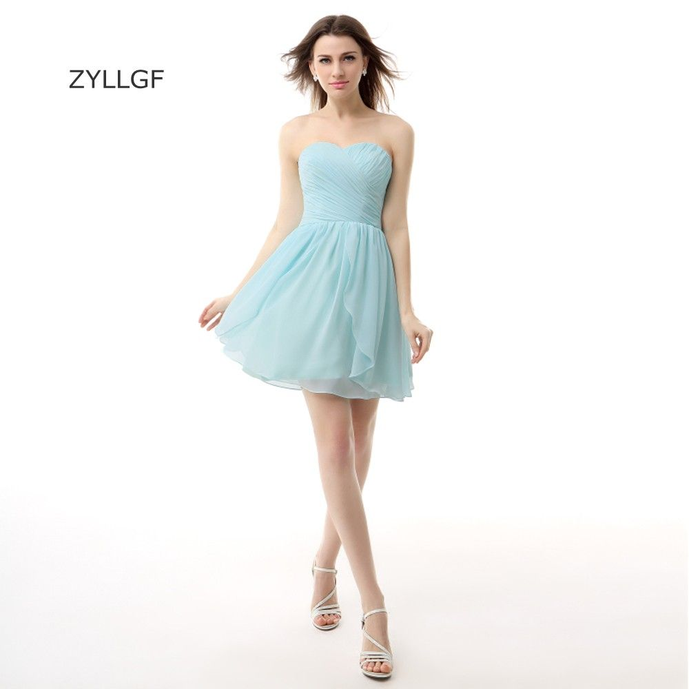 Click to buy ucuc zyllgf cheap short mini prom dresses sheath