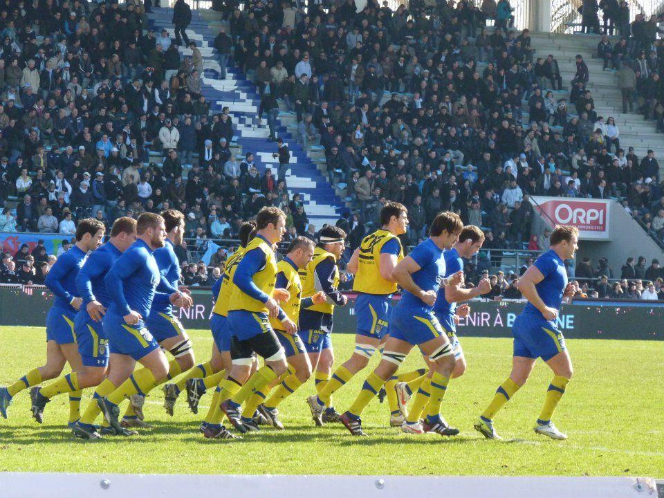 Image du tableau Rugby de Rourkie Dyer Jaune et bleu