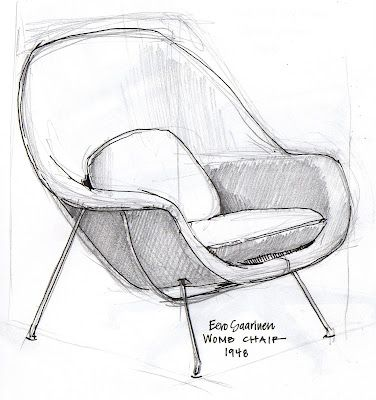 Eames Office Chair Grey