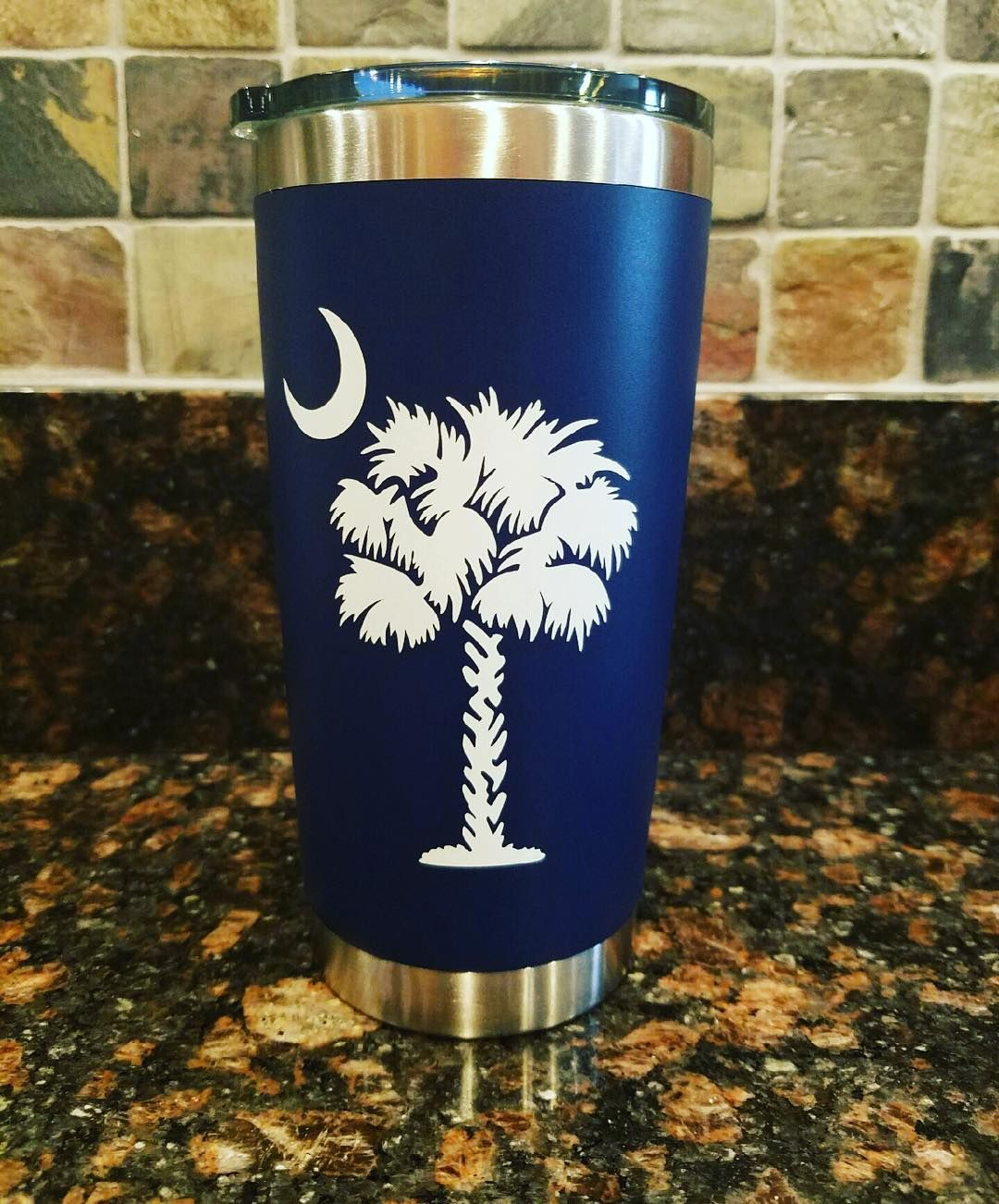One of our most popular designs mimics the South Carolina State Flag and looks…