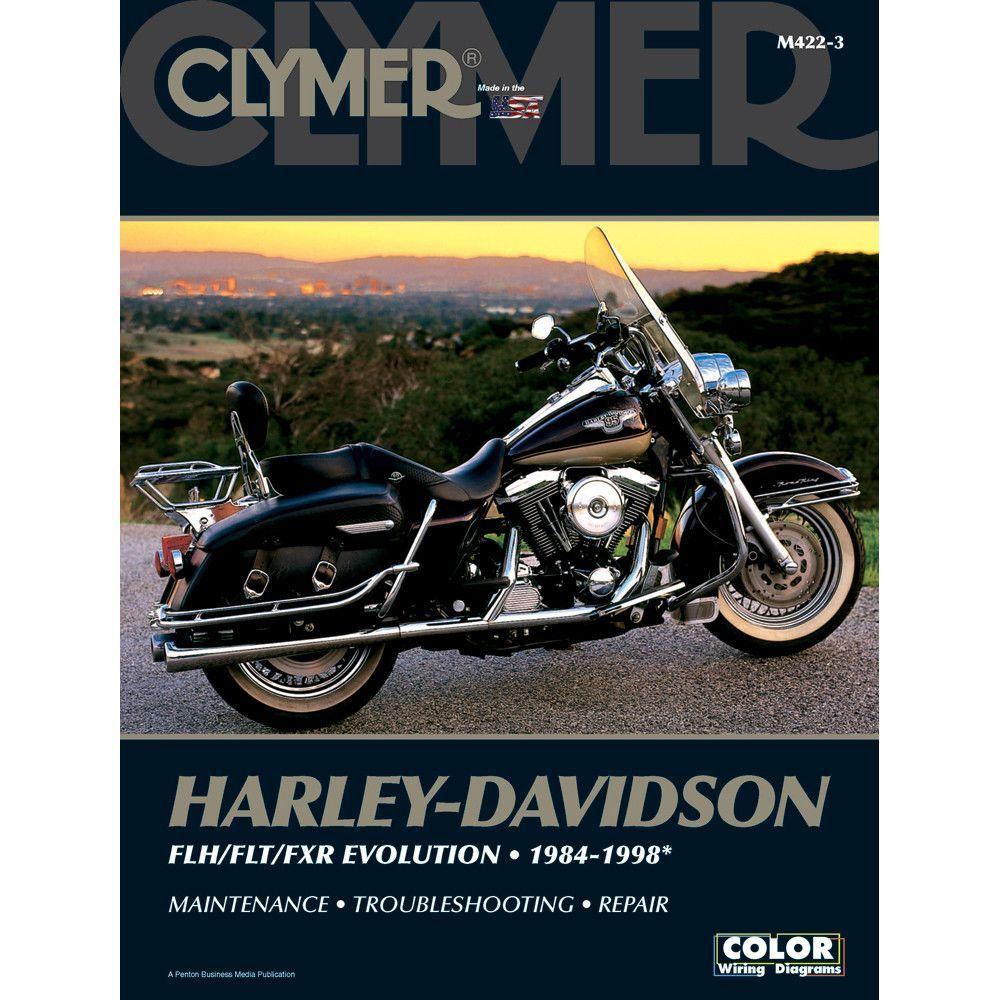 Clymer Harley Davidson Flh Flt Fxr Evolution 1984 1998 1950 Wiring Diagram