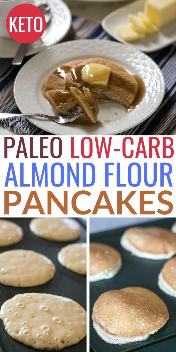 Almond Flour Pancakes Easy Keto Low Carb