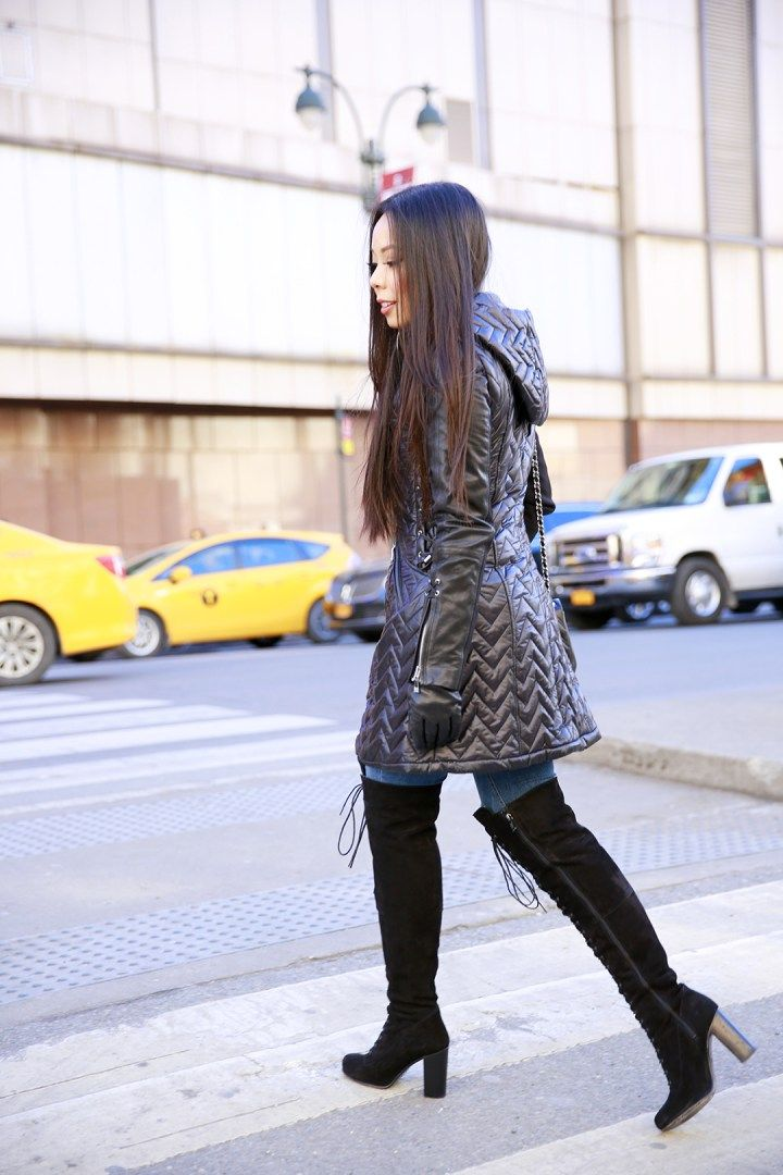 An Dyer Paige Levy The Muffy Dawn Lace Wearing With Over Ted Up Coat nvN8wm0