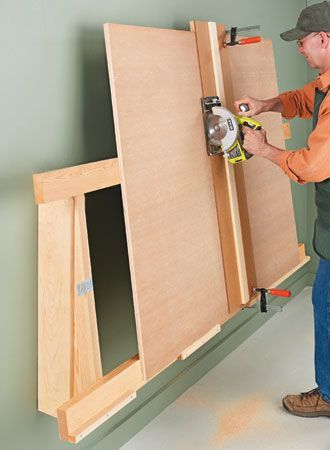 Low-Profile Cutting Rack   Woodsmith Plans