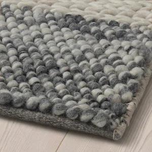 holmstrup tapis fait main gris ikea