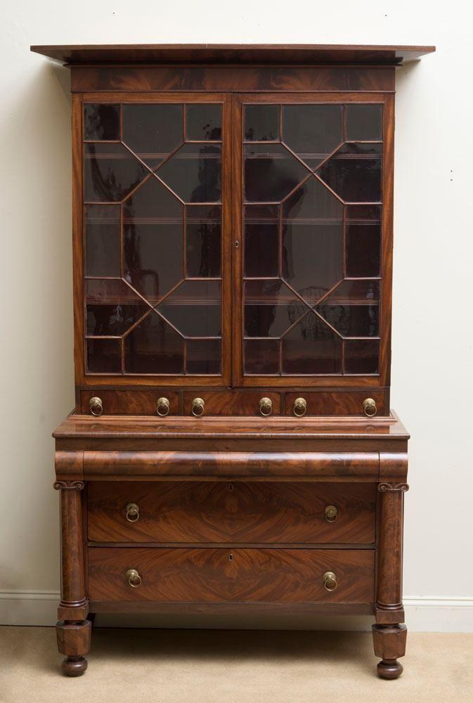 Antique furniture · BOSTON CLASSICAL MAHOGANY BOOKCASE - BOSTON CLASSICAL MAHOGANY BOOKCASE Antique Furniture. Pinterest