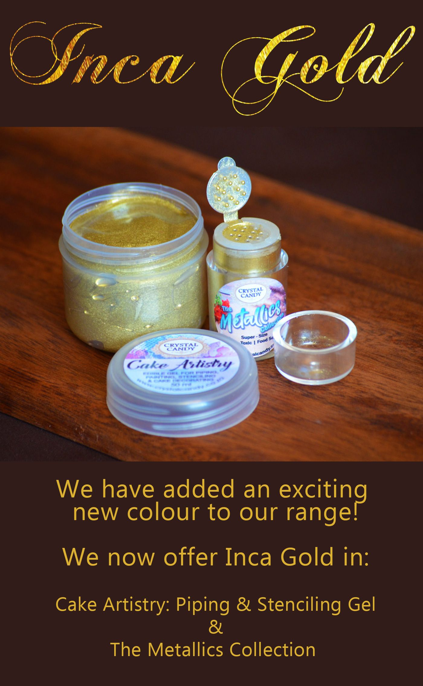 Inca Gold! The newest colour in our Cake Artistry ...