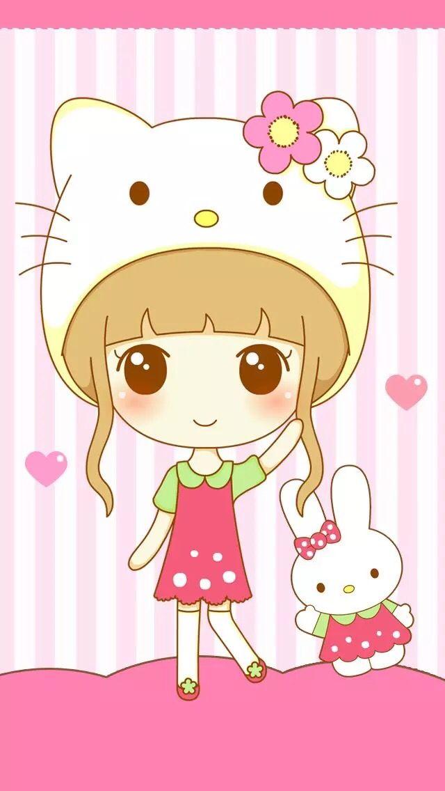 Wallpaper Dibujos Kawaii Munecas Kawaii Ilustraciones De Kawaii