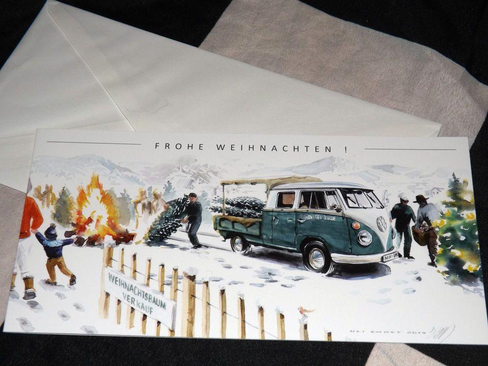 Volkswagen Vw Bulli Transporter T1 T2 Pick Up New Art Print