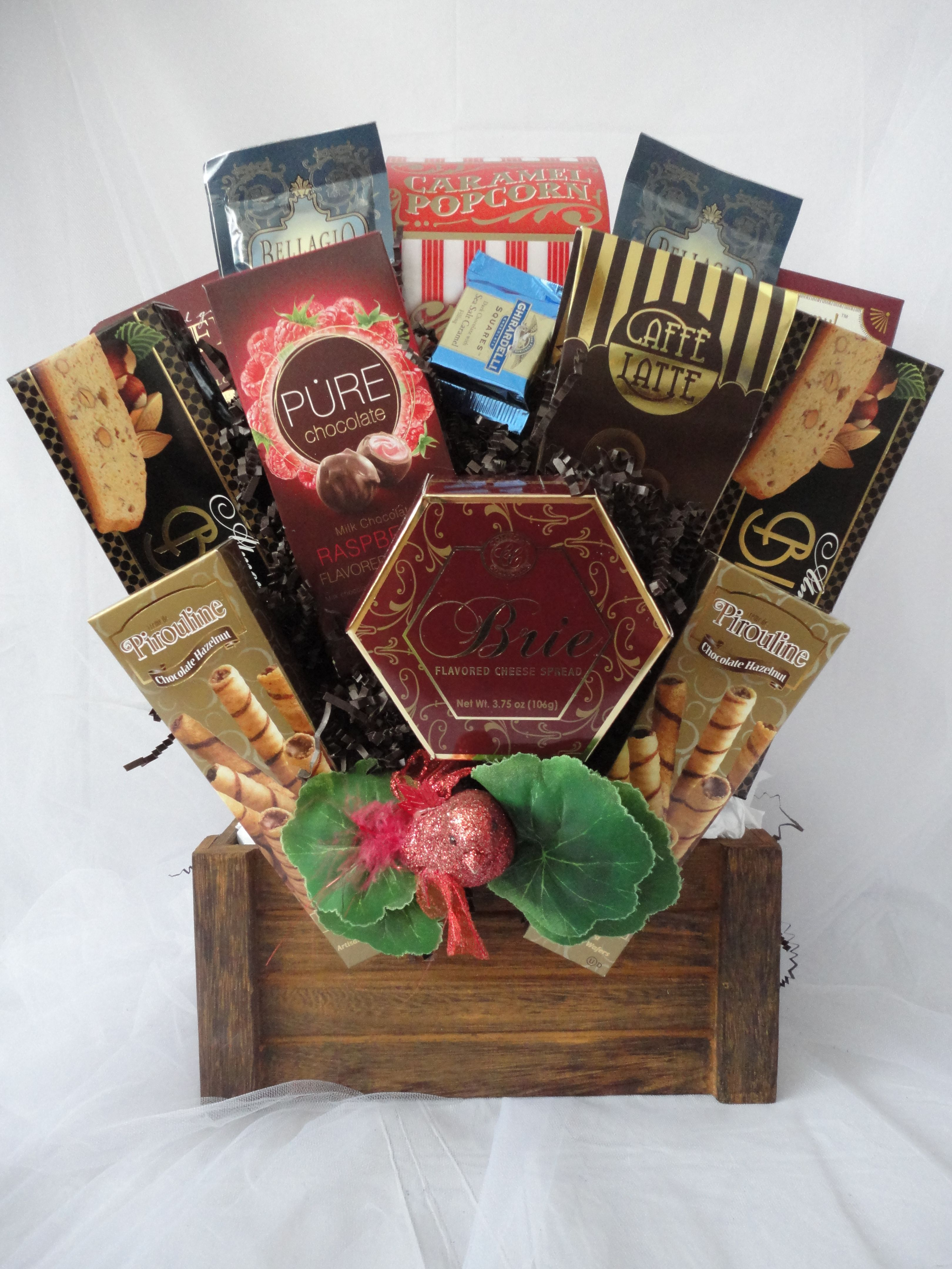 Chocolate gift baskets Montreal. A chocolate decadent gift baskets ...