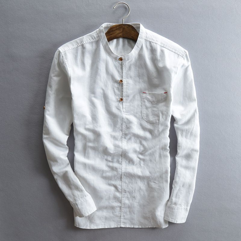 black linen shirt mens - Google Search | T.Q.M.-Casual Shirts ...