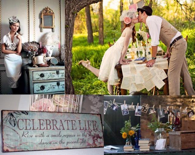65 Vintage-Hochzeit Ideen - Inspirationen, Farben und Deko