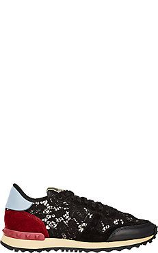 Lace & Leather Rockrunner Sneakers