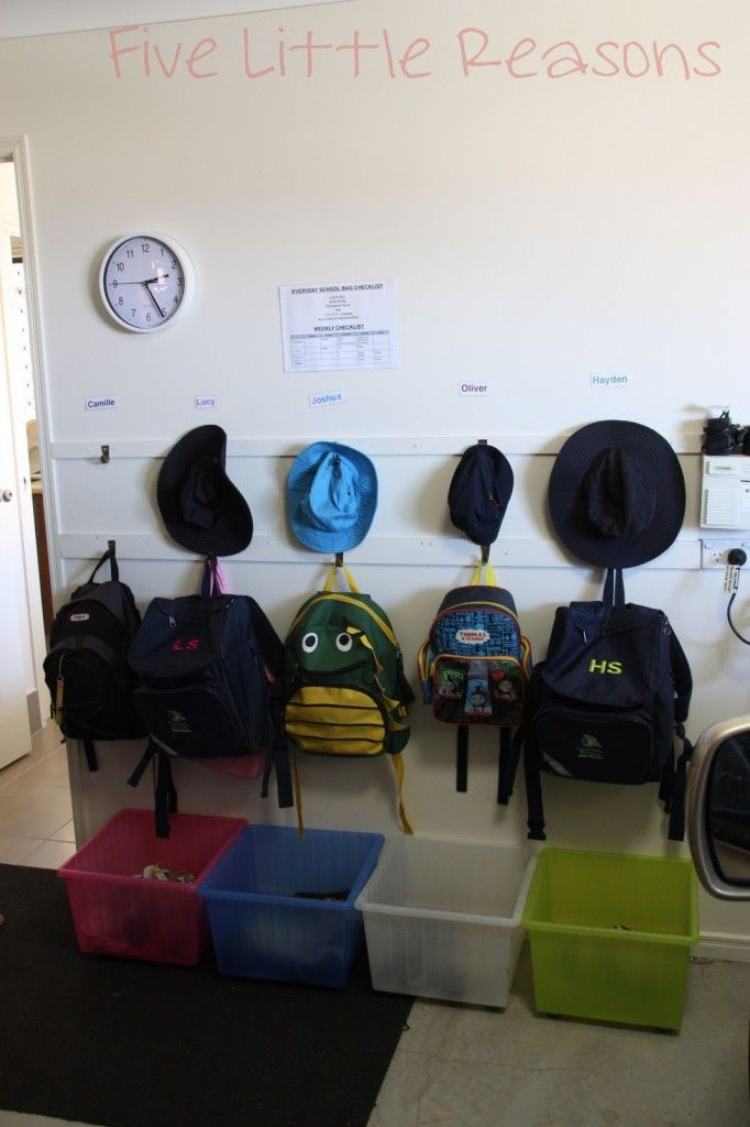 Bon Simple Shoe And Backpack Storage Solution House Ideas
