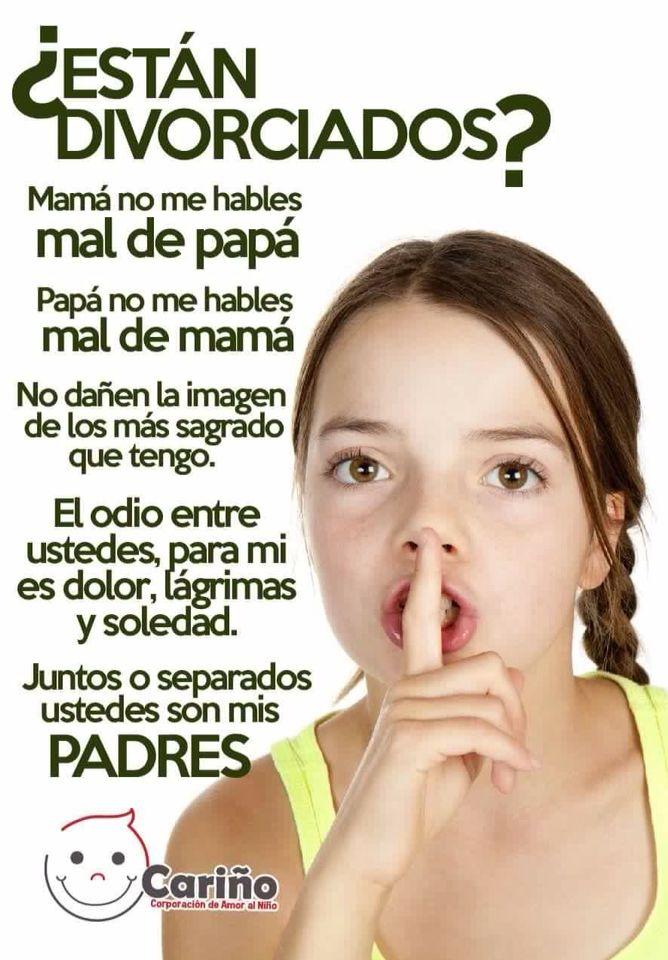 Padres Separados Divorcio Frases Para Padres Divorcio Hijos