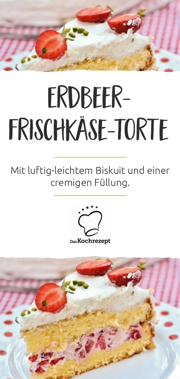 Photo of Erdbeer-Frischkase-Torte