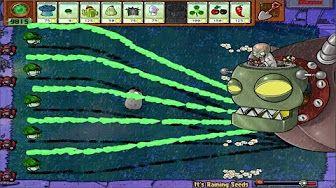 Plantas Vs Zombis Popcap 100 Tejado Infinito 75 Melonpulta Plantas Imitadoras Youtube Plants Vs Zombies Zombie Plants