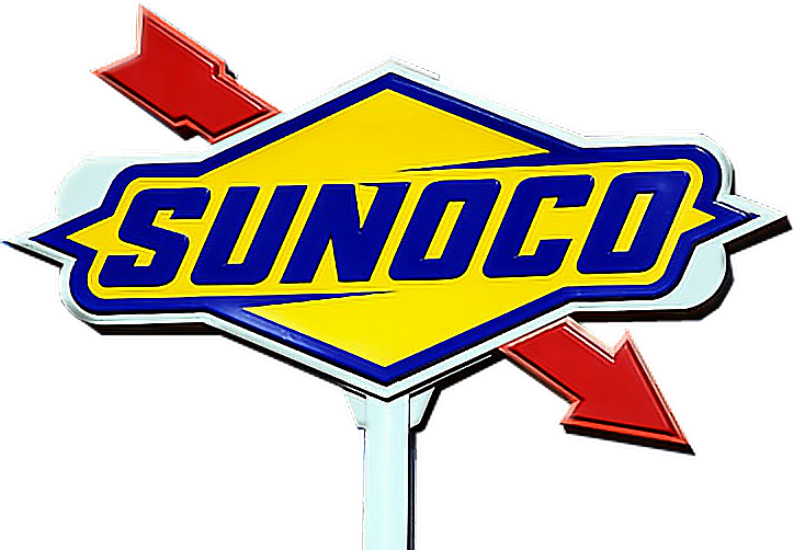 Sunoco Gas Station Yellow Red Blue White Polyvore Moodboard Filler Red Blue Yellow Mood Boards Ad Design