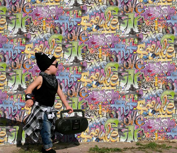 Give your tween or teenage boy the street cred with his peers with this Beats Graffiti Wallpaper!! #tween #teenager     #wallpaper #wallpapers #design #interiordesign #homeinspo #homedesign #homebeautiful #bedroomideas #walldecor #wallporn #loungeroom #inspiration #love