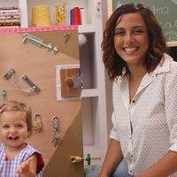 'Mães à Obra' ensina a fazer um quadro sensorial. Confira!