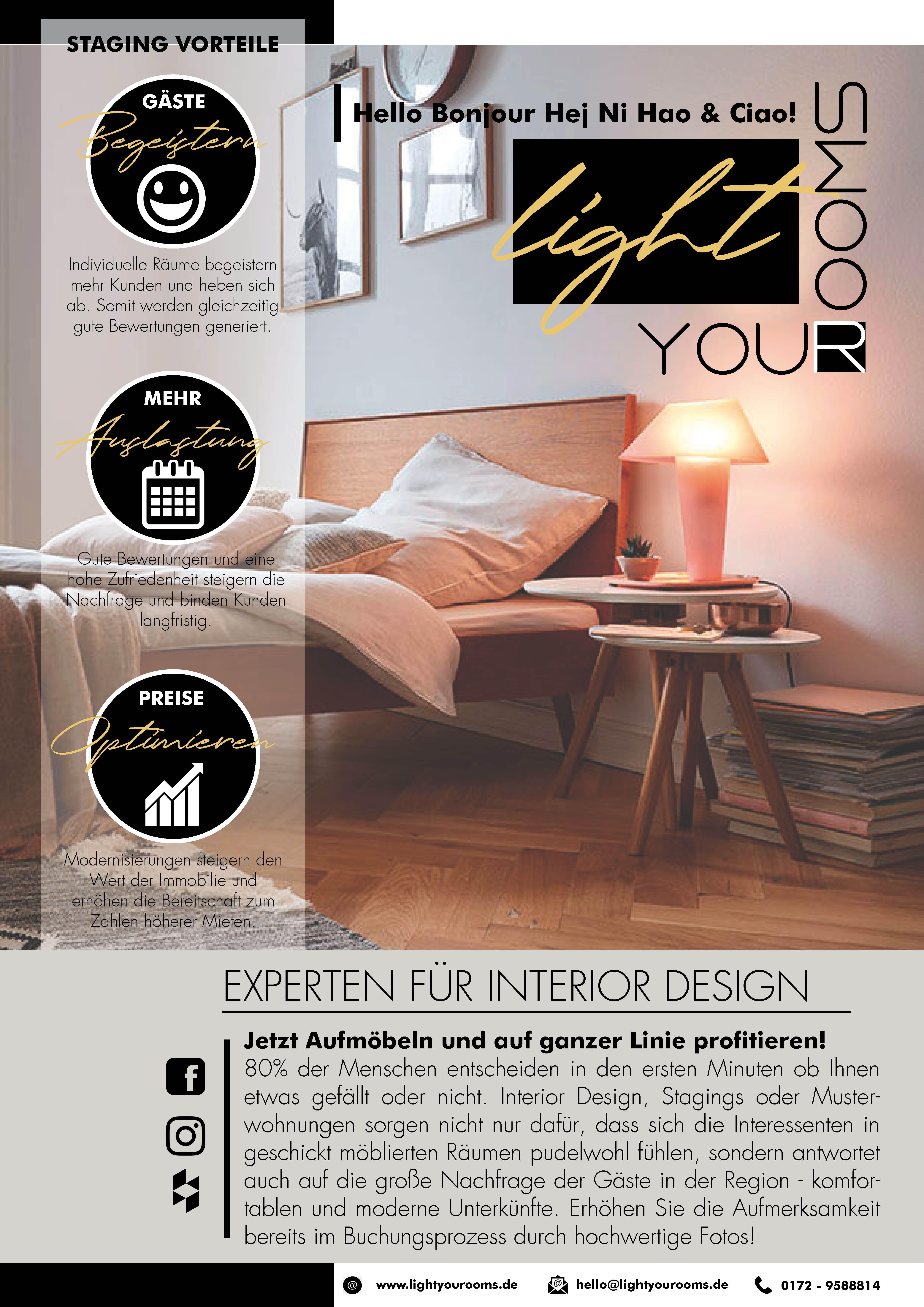 Home Staging By Lightyourooms Der Erste Eindruck Zahlt Renovieren Innenarchitektur