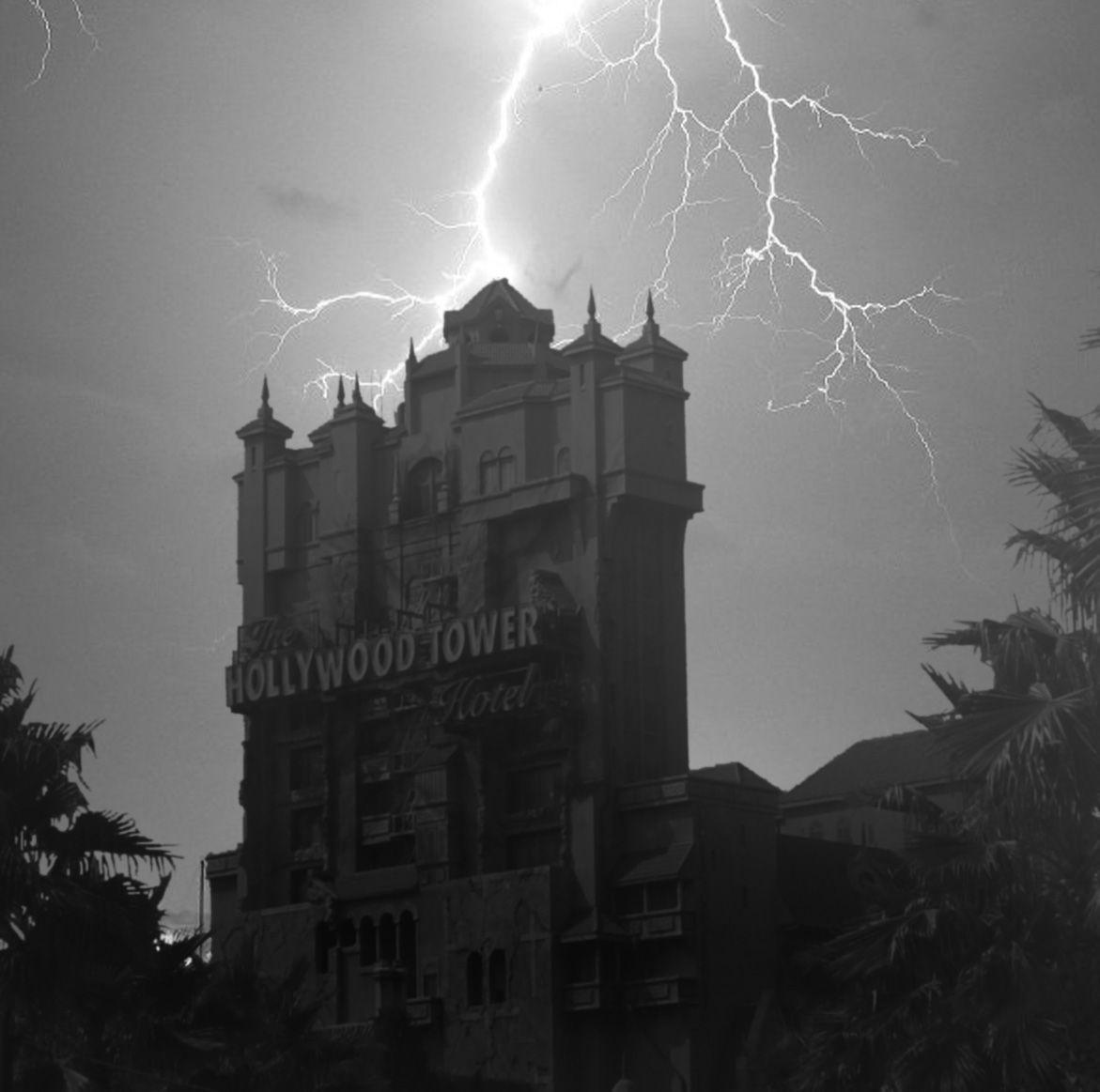 Disney Tower of Terror Lightning
