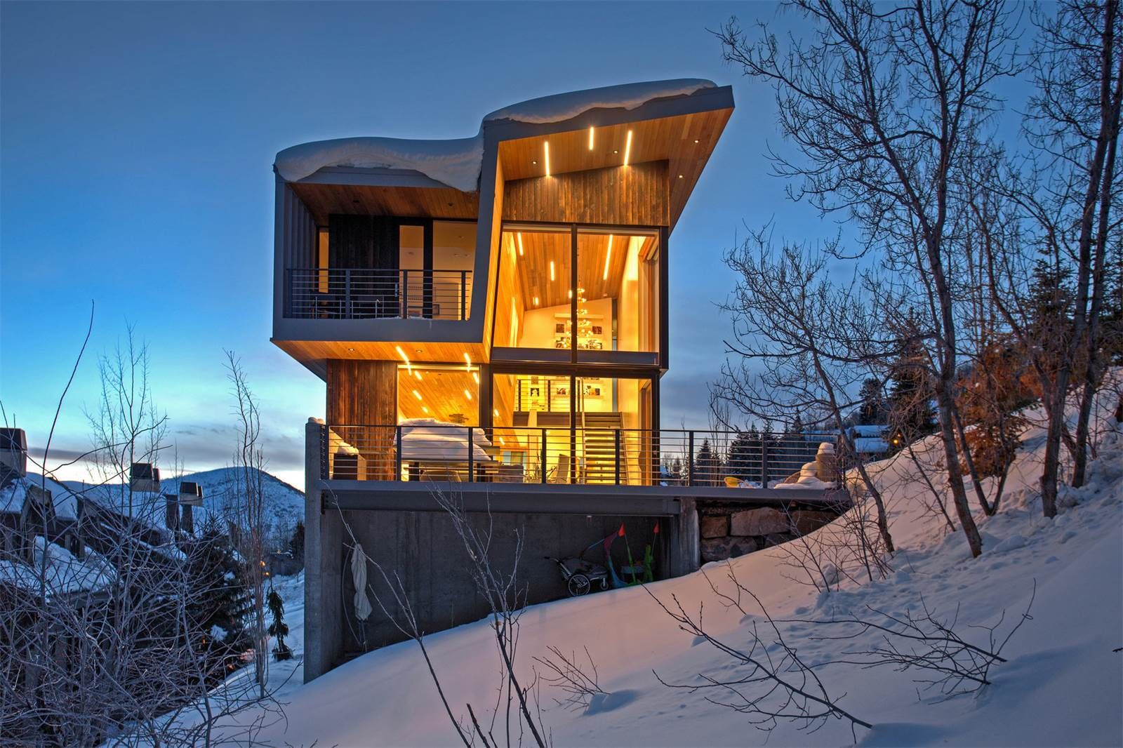 Extraordinary Property of the Day: Striking Modern Marvel in Park City, Utah