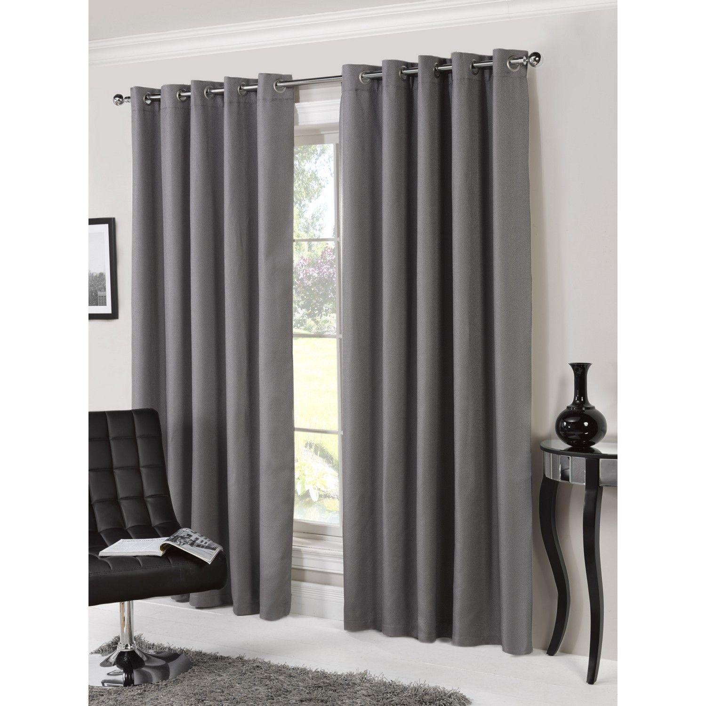 Bucking Blackout Eyelet Curtains