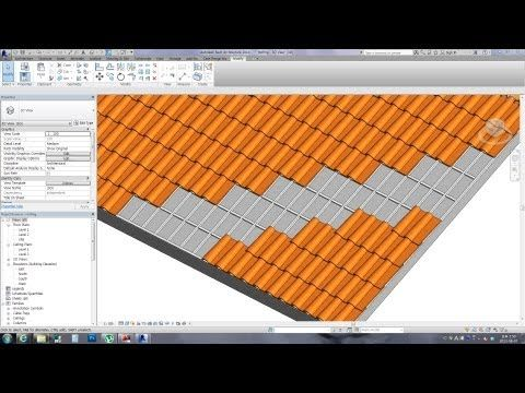 Revit Tips Spanish Roof Tile With Download Link Youtube Roof Tiles Revit Tutorial Roof