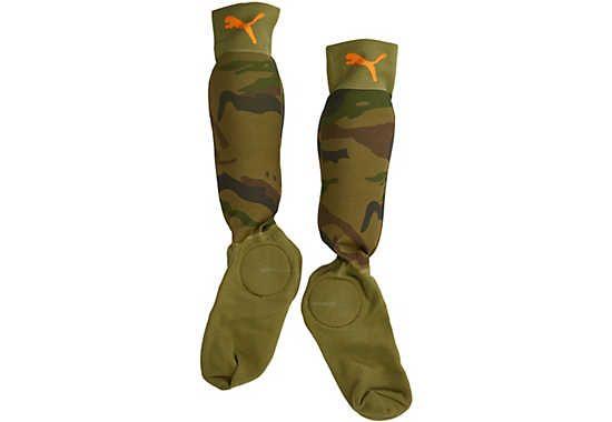 aef95aab93e3 Puma Neon Jungle Shin Socks - Camo...get yours from www.soccerpro ...