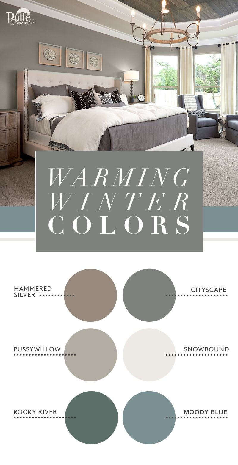 Warm Your Home This Winter With Coordinated Colors Find The Perfect Neutral Or Bold Accent Us Paint Colors For Living Room Bedroom Paint Colors Bedroom Colors