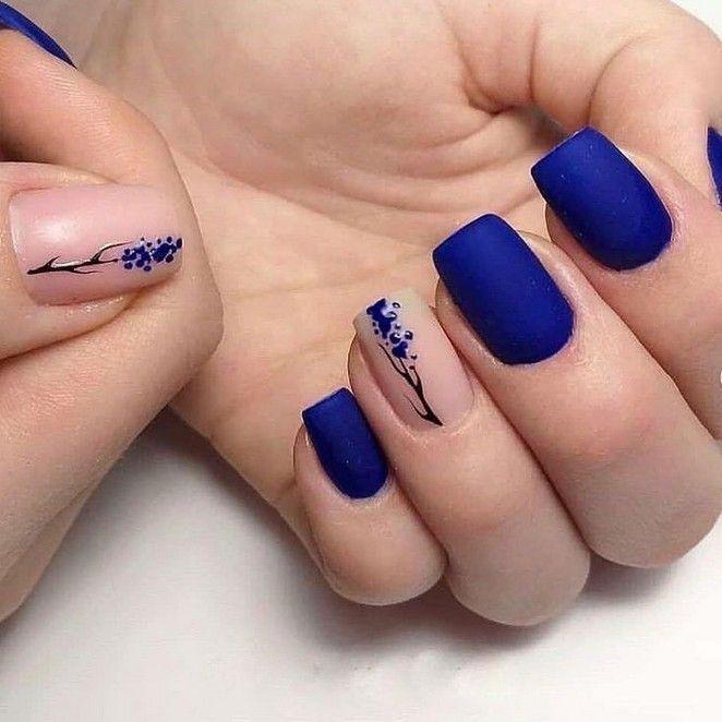 144 best natural short square nails design for sum