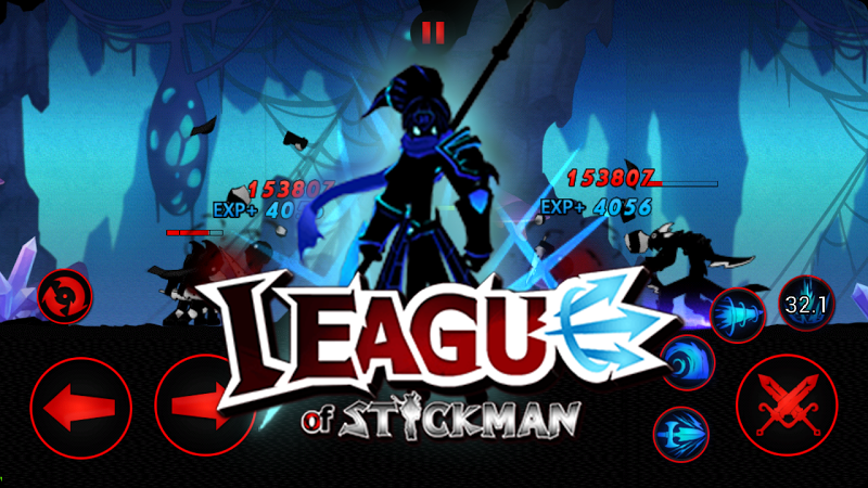 League of Stickman Warriors v3.3.2 (Mod) Apk Mod Data