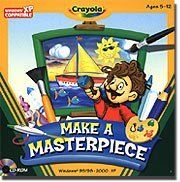 Crayola Make A Masterpiece by Encore. $4.99. Enhances Creativity with a Variety of Art Tools andIdea StartersProduct InformationEvery child can be an artist! Make A Masterpiece makes it easy for kids tocreate simple drawings or spectacular works of art while learning about famousartwork and artists. With Scribble the personal art guide kids can even travelthe world for inspiration. Need an idea? Choose from more than 200ideas. Have an idea? Create your own artw...