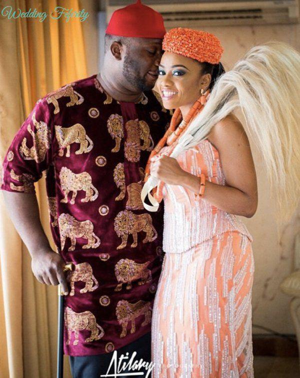 Igbo Traditional Wedding Bride, Groom and Bridesmaids Inspiration ...