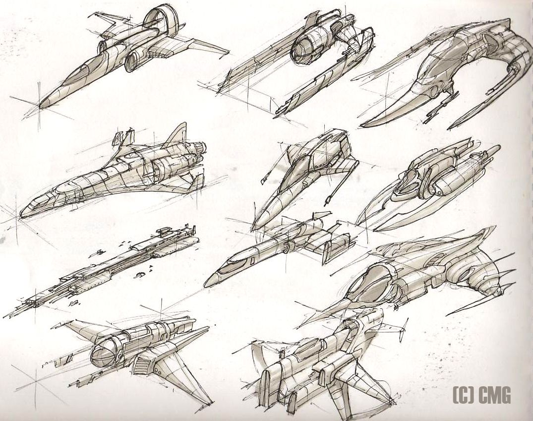 Space Ships 6 By ~MeckanicalMind On DeviantART