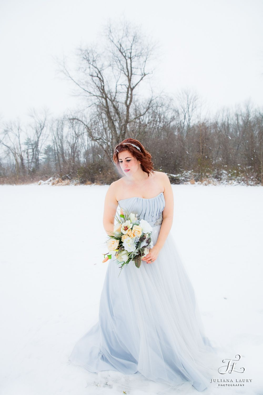 Light blue wedding dress | Philadelphia + Bucks County Wedding ...