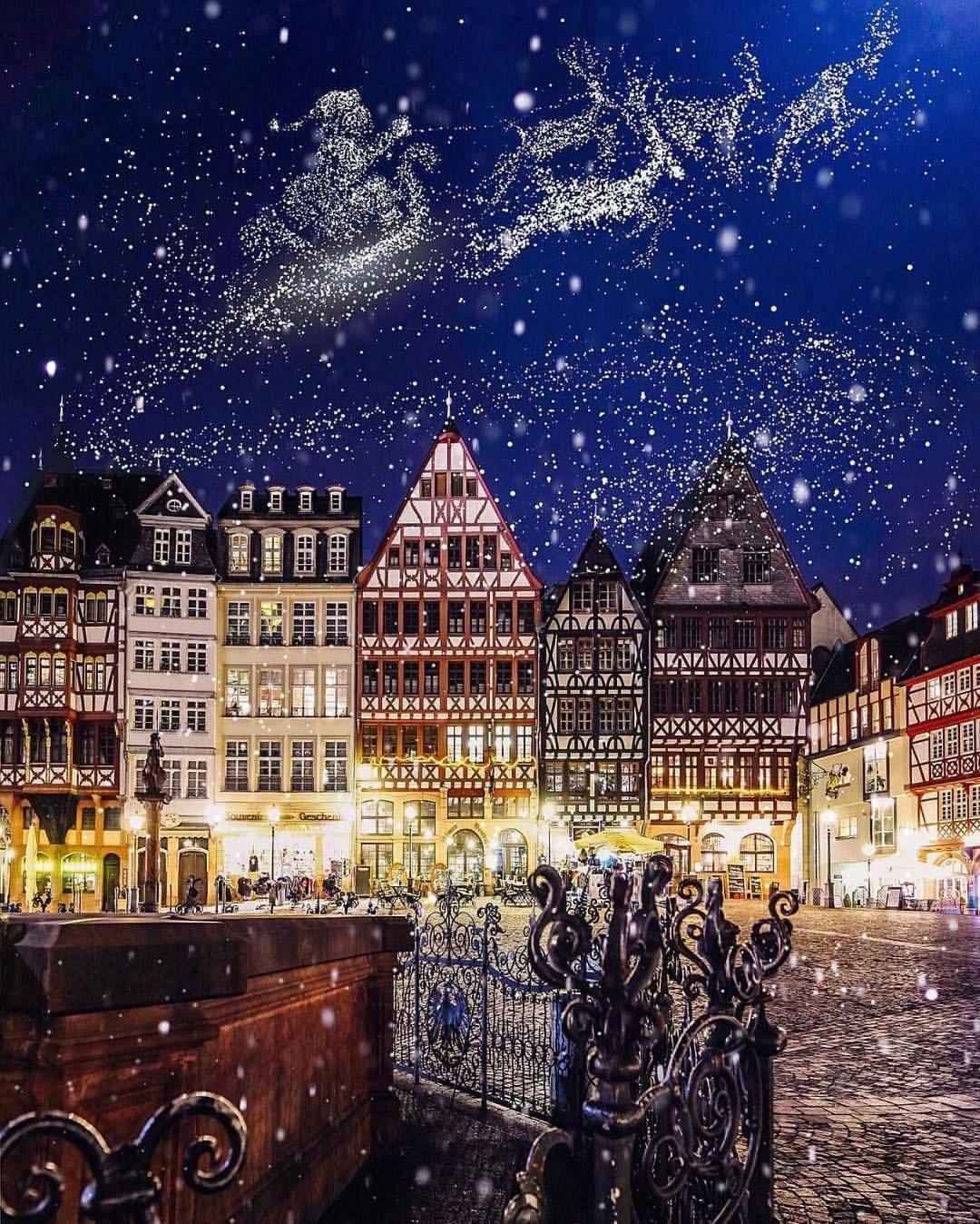 Christmas Gif Tumblr Vacation Inspiration Frankfurt Germany Christmas Travel Abroad