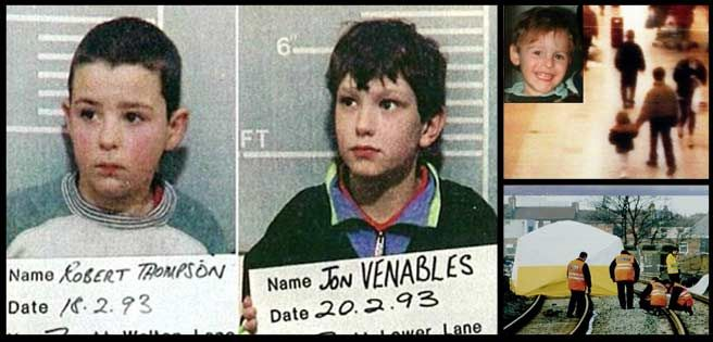Jon Venables And Robert Thompson Killed A Four Year Old Little