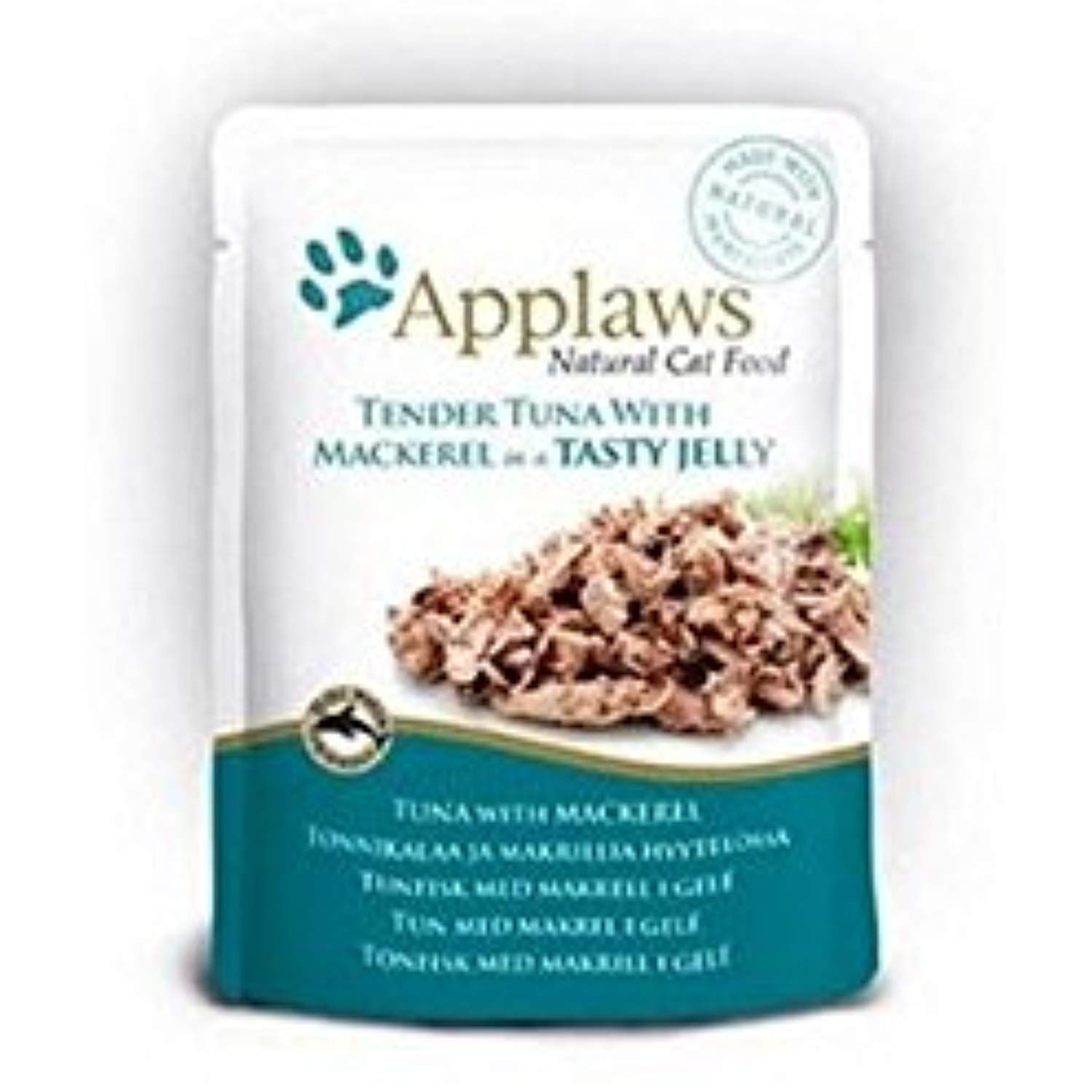 Applaws Tuna Wholemeat With Mackeral In Jelly Cat Pouch 70g Pack Of 6 Check Out This Great Product Th Natural Cat Food Cat Food Allergy Canned Cat Food