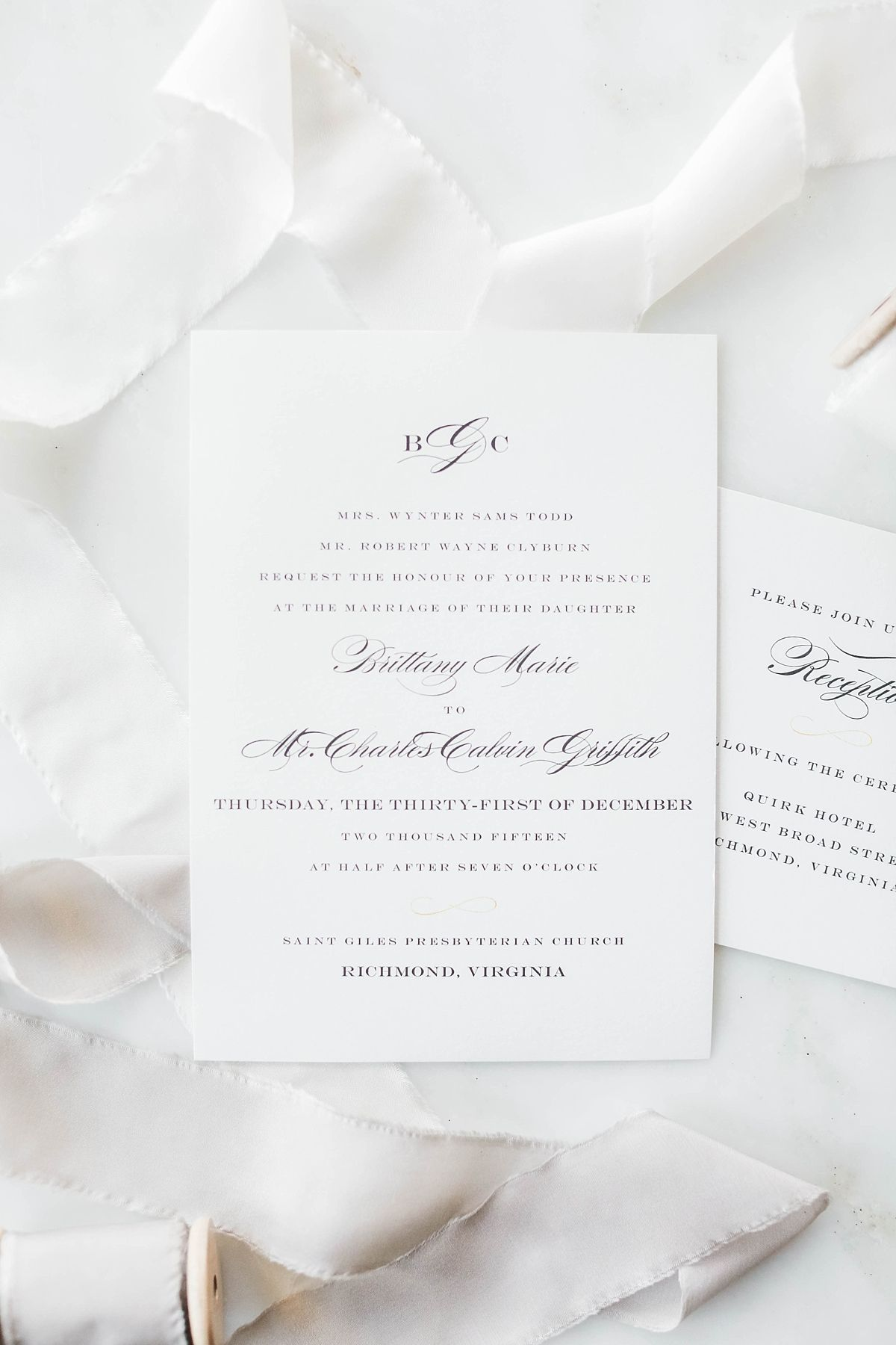 Timelessly chic wedding invitation designs from Minted will set the ...