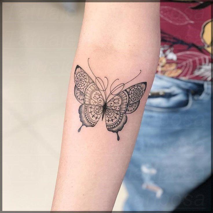 Tatuajes De Mariposas Para La Muneca