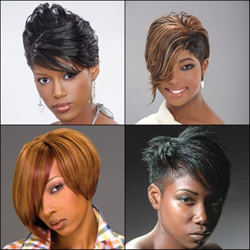 Strange 1000 Images About Bobs On Pinterest Lace Front Wigs Wigs And Short Hairstyles For Black Women Fulllsitofus
