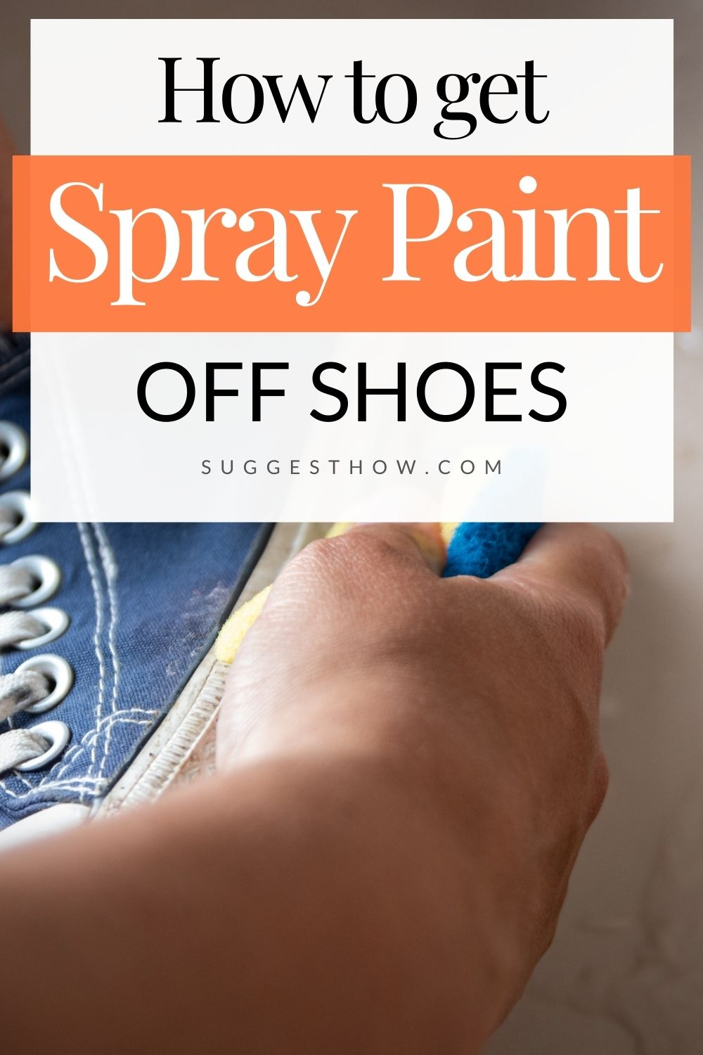 How to get spray paint off your clothes