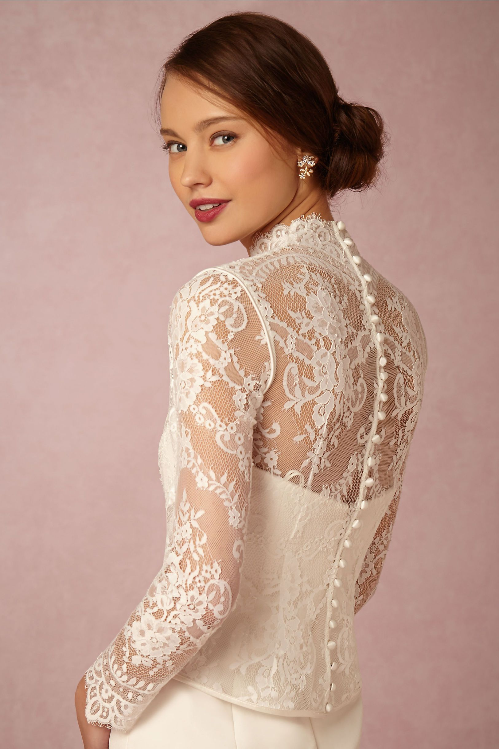 BHLDN Dahlia Topper in Bride Bridal Cover Ups at BHLDN | Bridal ...
