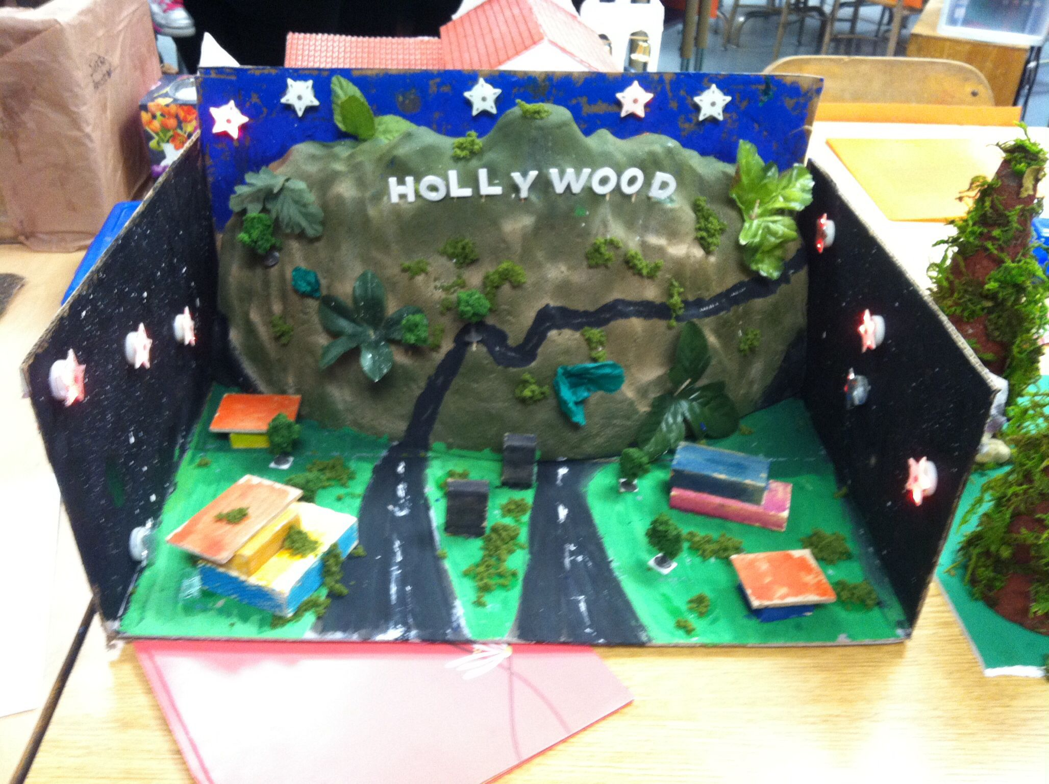 4th Grade California State Landmark Project